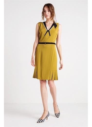 V Yaka Kolsuz Elbise-Love'n Fashion Paris
